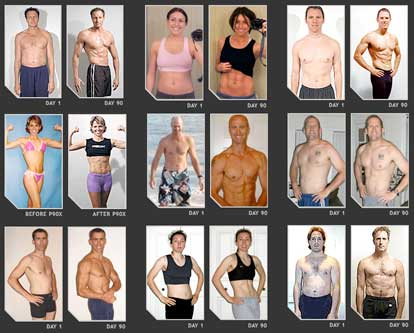 P90x Results Photos