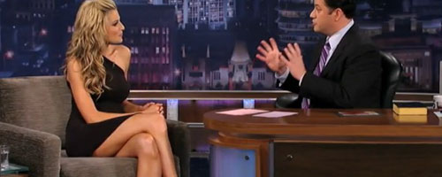 Erin Andrews On Kimmel P90x
