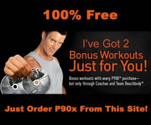 P90x Exercise Program Bonus DVDs
