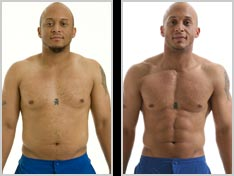 Insanity Workout Before And After Picture