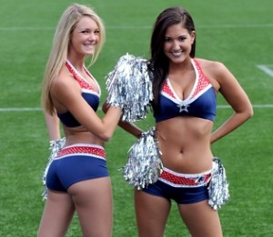 New England Patriots Cheerleaders Use P90x