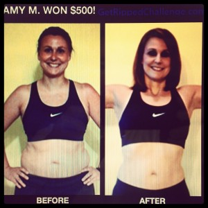 Amy's Beachbody Challenge Results